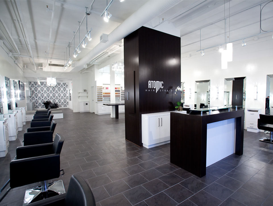 atomic Ladner BC hair salon